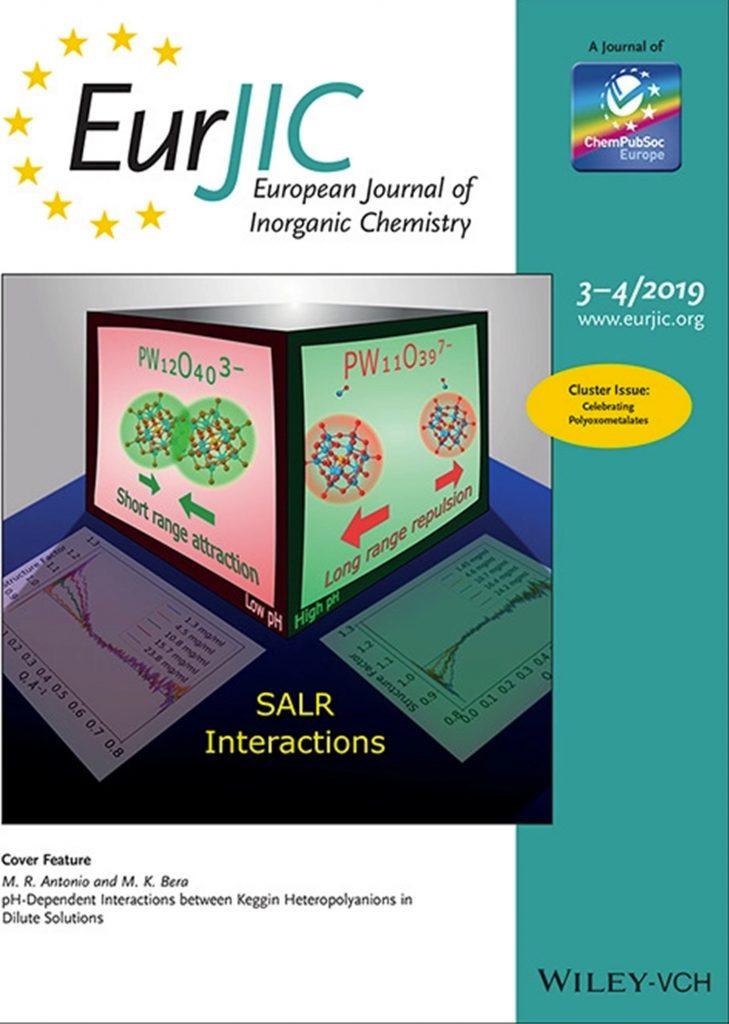 Eur  J  Inorg  Chem  cover