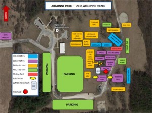 Click to enlarge the picnic map