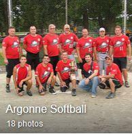 Argonne softball
