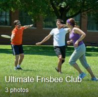 ultimate frisbee club