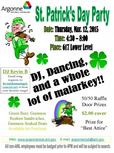 St Patricks_2015 Flyer