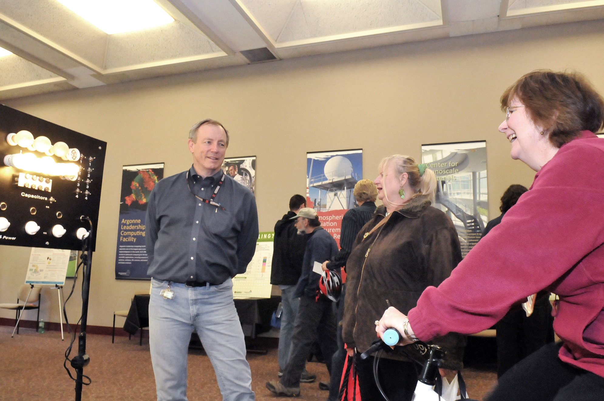 Argonne Earth Day event featured sustainable laboratory ...