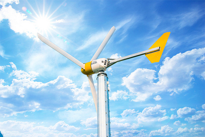 Argonne wind turbine produces power, used as R&D test bed