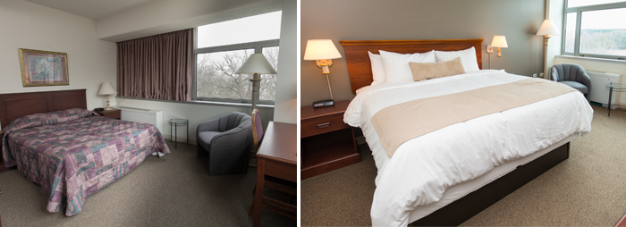 guest house room comparision